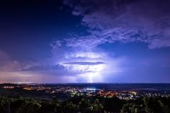 Gewitter über Rhein-Main. (Foto: Andreas Lerg)