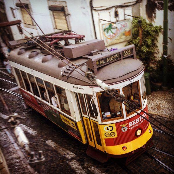 Carreira 28E dos Eléctricos de Lisboa
