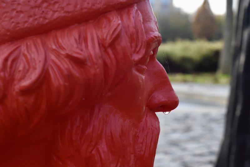 Statue von Johannes Gutenberg auf dem Gelände der VRM in Mainz. (Foto: Andreas Lerg)