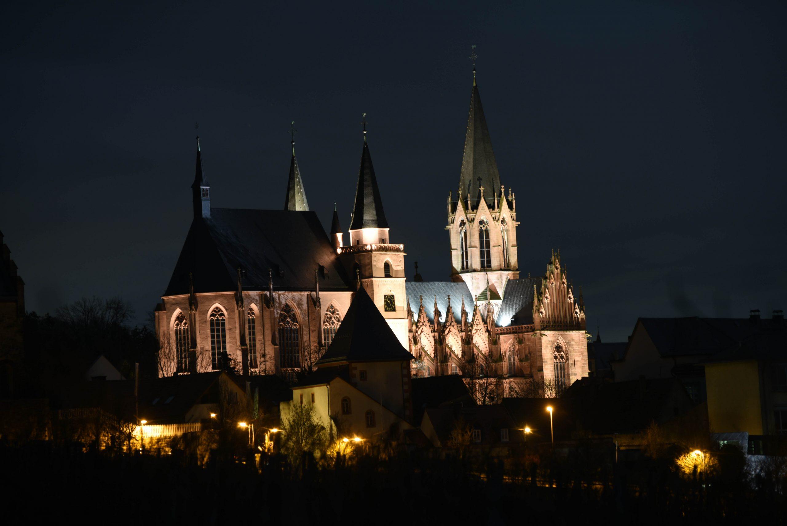 Das einzeln bearbeitete Bild der Katharinenkirche